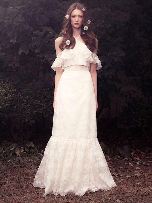 Honor: vestidos de novia sencillos y como de cuentos de hadas.
