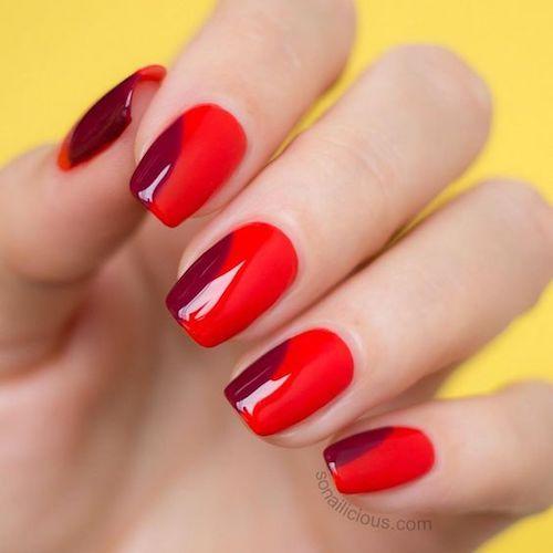 Londonize mod style nail design.