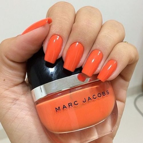 Bright orange from Marc Jacobs.