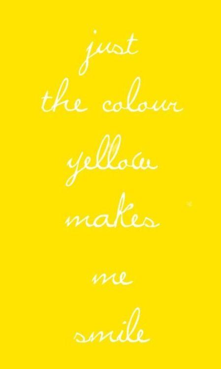 Un color jovial con toda la energía positiva.