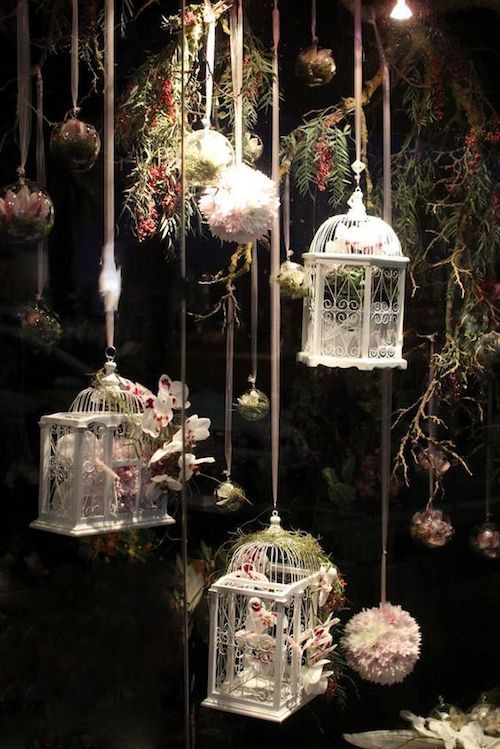 Winter tale vintage woodland wedding decor.