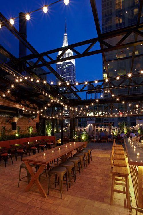 Estilo años 20 el Refinery Hotel tiene unas vistas magníficas del Empire State Building.