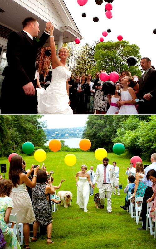 Nothing more magical than a balloon release! Tips on the blog.