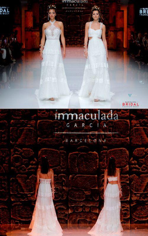 Inmaculada García nos enamora con vestidos de novia actuales, románticos y únicos.