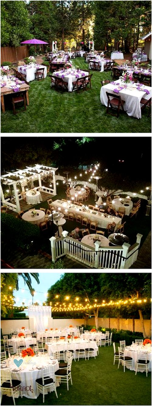 Looking for lit backyard wedding ideas filled with finesse? Here they are!