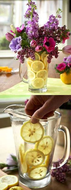 Tutorial to make your very own citrus centerpiece.