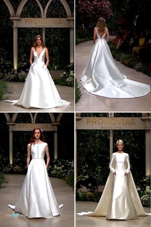 La colección de Pronovias 2019 incluye una línea de vestidos para novias dignos de un cuento de hadas medieval.