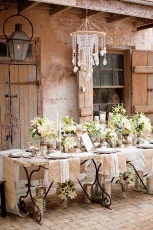 ¿Que tal una boda pequeña y original en la campiña francesa con todo el estilo? Ebonysharp photo.