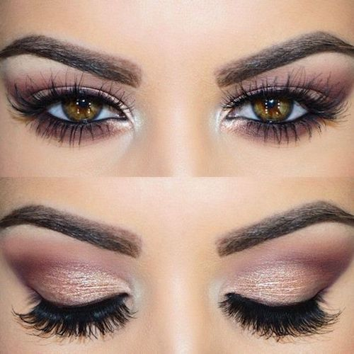 Choose false eyelashes with more volume on the outer corner for close set eyes.