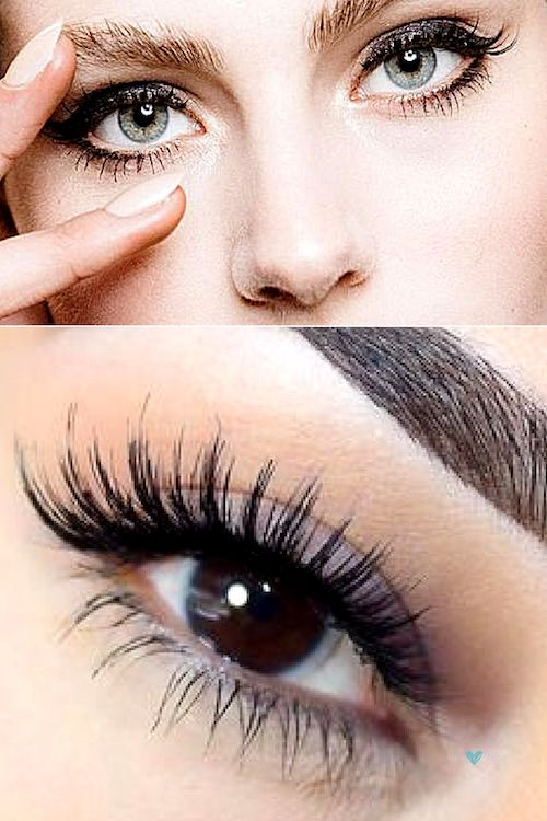 All eyes can benefit from false eyelashes, be it with a cat eye or a more dramatic yet wispy vibe.