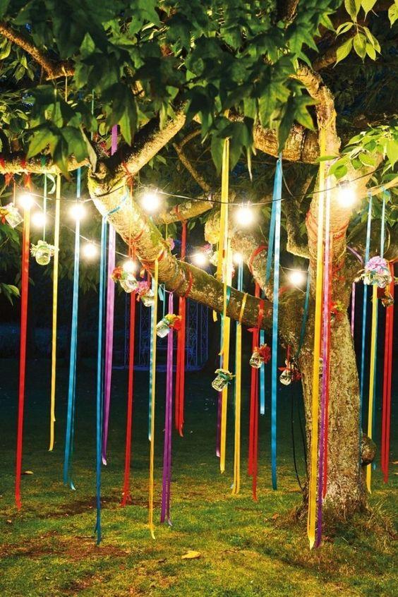 Ideas para celebrar una boda íntima. Decoración sencilla, alegre y única.