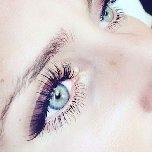 Thick, luscious eyelashes will give your face an instant lift.