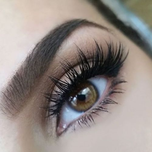 If this is your first time wearing falsies, don't go for a dramatic look.