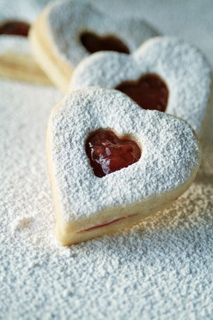 These delicate Linzer cookies will be a favorite at any winter dessert table.