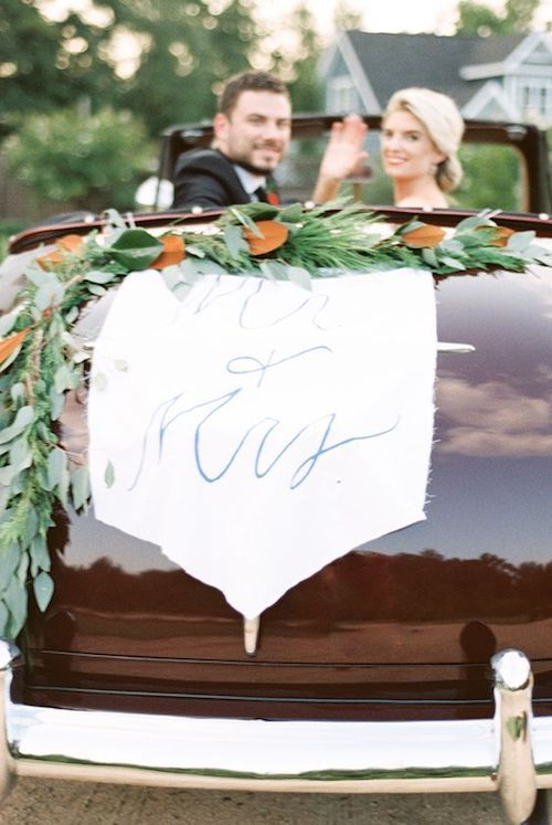 Uniquely calligraphed sign on fabric, perfect for a winter wedding getaway. Radian Photography and Plume Events were inspired by the timeless style of The Bradford.