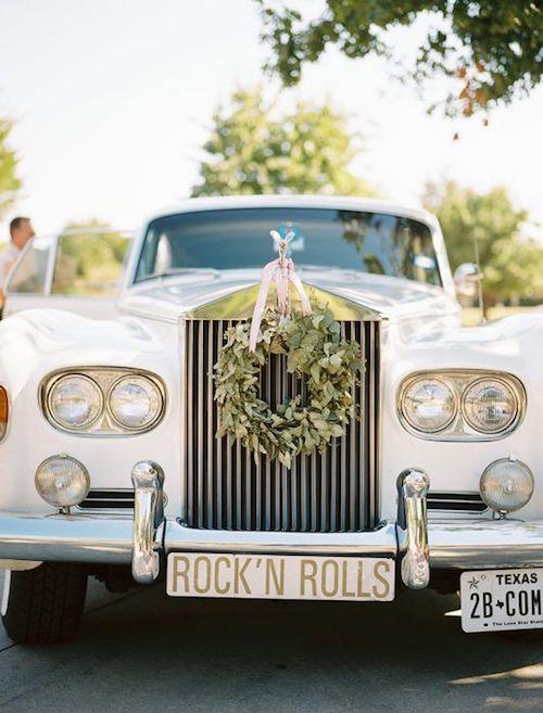 Original DIY touches for a classy ranch wedding.