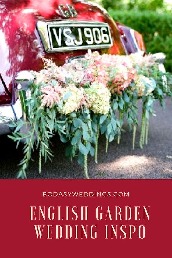 Classic English garden wedding inspo by elizabethanne designs.