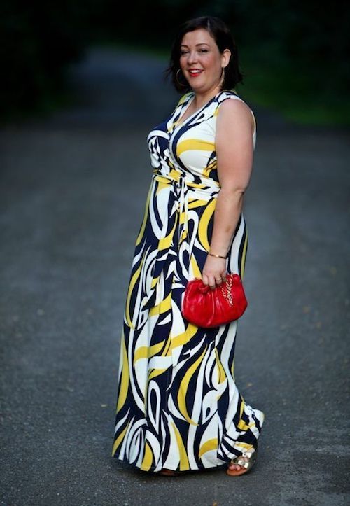 You are never too old to look your best as shown on the Wardrobe Oxygen fashion blog with this graphic Boden sleeveless maxi dress. Onpoint.