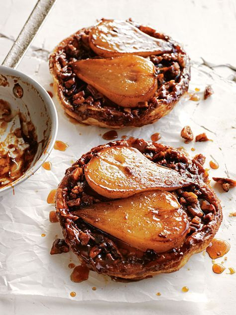 These scrumptious pear maple pecan tarte will delight everybody's tastebuds.