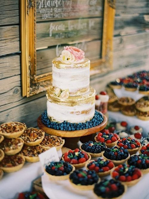 How about adding a dessert table at your wedding? Get inspired by these scrumptious winter wedding dessert ideas!