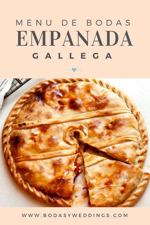 Un almuerzo para una boda civil se merece una empanada gallega como esta. Foto: Kevin Miyazaki.