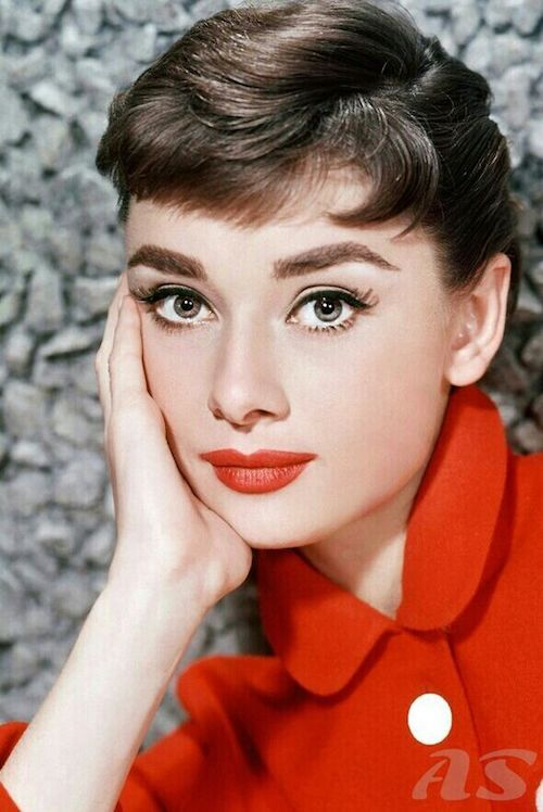 Big round eyes? Why not do your eyes a la Audrey Hepburn?
