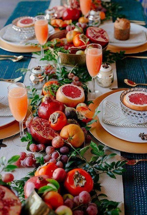 Festeja tu boda en el patio de tu casa con un brunch espectacular.