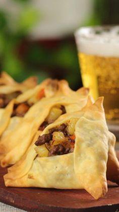 Todas las culturas pueden estar representadas en las empanadas para bodas: empanadas árabes.