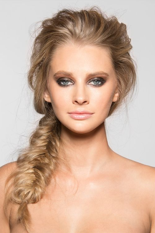 Rock a full on-bed head with a fishtail with volume. Very 60s meets 90s!