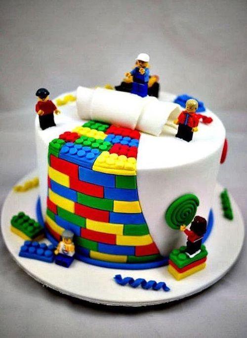 Lego groom's cake.