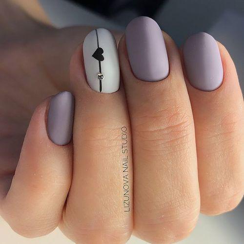 Detalles originales en uñas para boda civil. Wishbonebear.