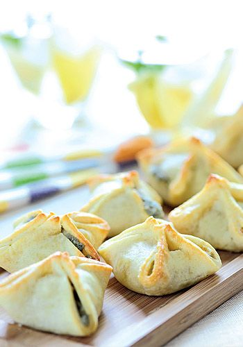 Paquetitos de roquefort y nuez para tu lunch de civil. Delicados y económicos.