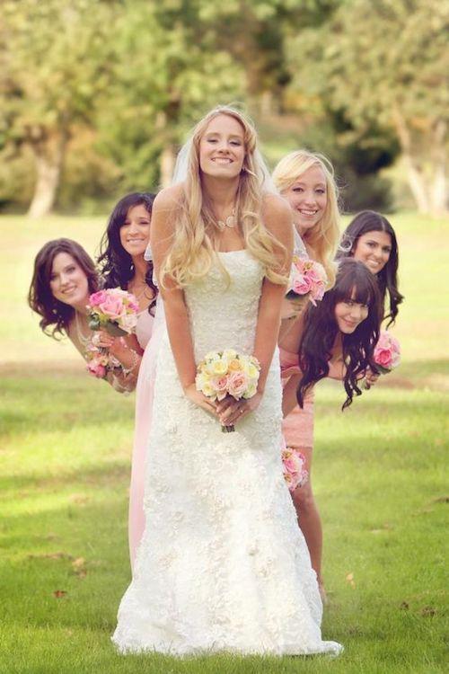 Quienes deben ser las damas de honor y como ayudan a la novia.
