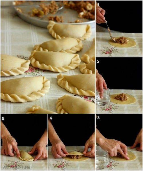 Sigue nuestras recetas de masa de hojaldre casero y haz unas deliciosas empanadas.