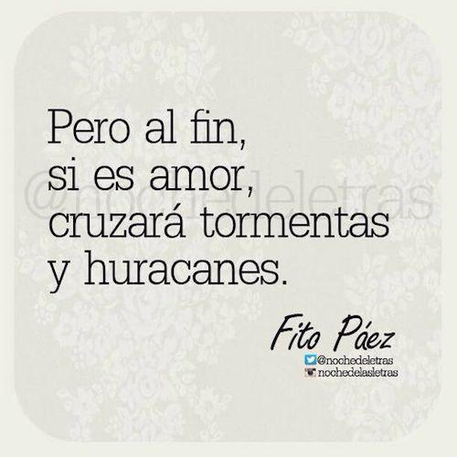 ¿Te gusta esta frase de Fito Páez?