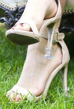 Heel protectors and your girlfriends will love you for thinking of them by the solemates.