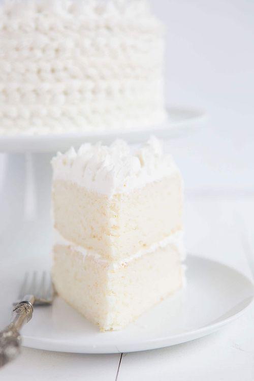 ¿Alguna vez probaste una tarta de almendras blanca? Es increíble.