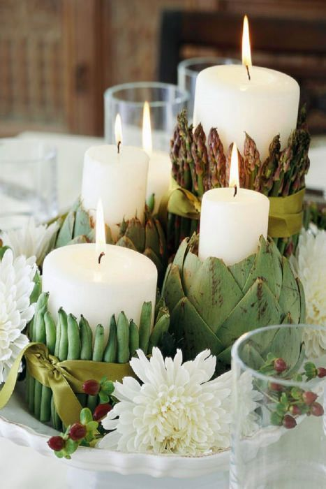Ecological and easy to DIY, these wedding table centerpieces will be the center of attention - not just the table. The tutorial on the blog.