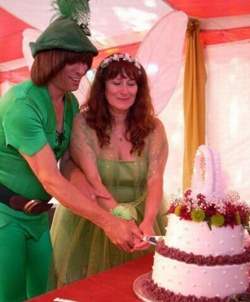 A Neverland-themed wedding. Peter Pan and Tinker Bell are getting hitched. Funny wedding moments.