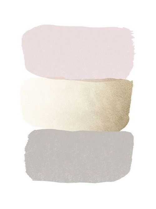 Gray, gold and blush wedding color scheme.