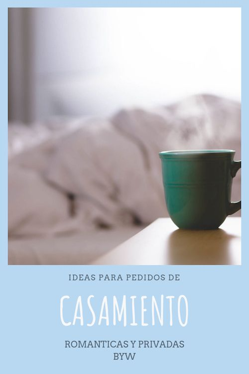 Despierta a tu media naranja con un café y un pedido de casamiento. Simple, romántico y privado. Fotografía: David Mac.