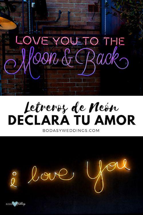 Pide matrimonio frente a un letrero de neón que declare tu amor. Créditos de fotografía: Rod Long/BYW @rodlong & Ali Yahya/BYW @ayahya09