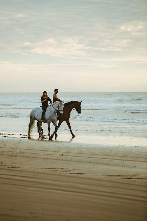 Alquila caballos, desmonta, arrodíllate y pídele que se case contigo. Un sueño romántico hecho realidad. Foto: Austin Neill/BYW @arstyy