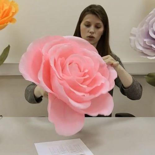 Todos quedarán maravillados con estas flores. De @papermintdecor