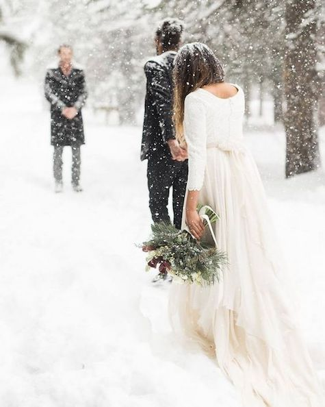 Winter is the most magical and romantic season to elope or get married. Get inspired by these amazing winter wedding ideas!