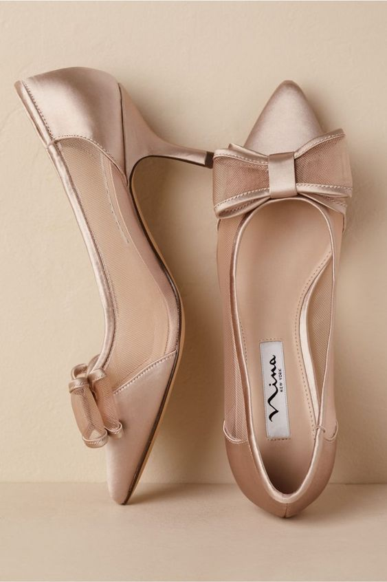 Blush is such a romantic color and so perfect for a winter bride.