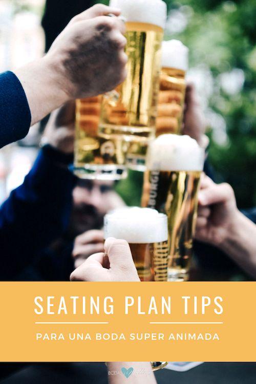 Cómo sentar a los invitados en tu boda para una fiesta divertida y animada.