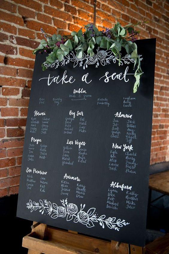 Desde el momento en el que encuentran su asiento, tus invitados tendrán un tema del que hablar: los nombres de tus mesas.