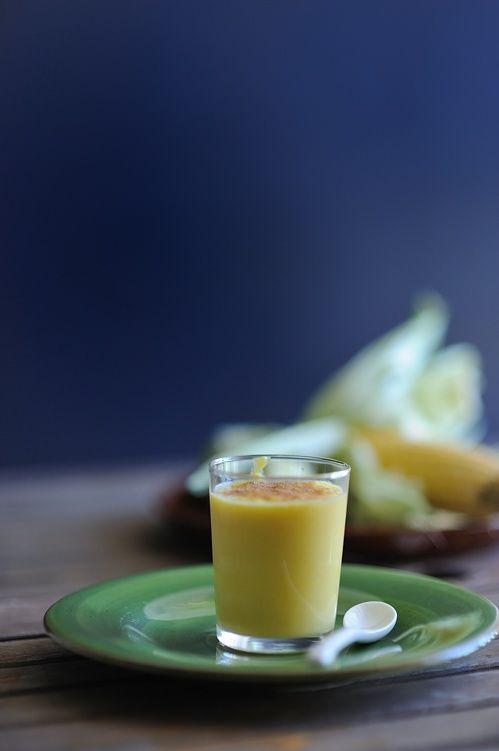 Atol de elote or corn milk is a warm beverage very traditional of Mexico, Honduras and El Salvador. Photo: souvlakiforthesoul.