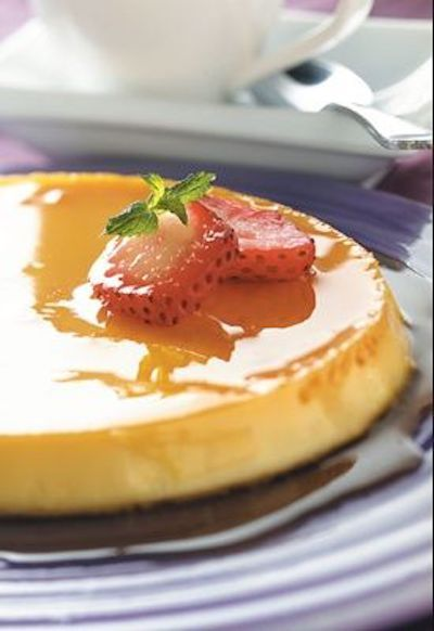 Classic Mexican flan. Photo: Grit.